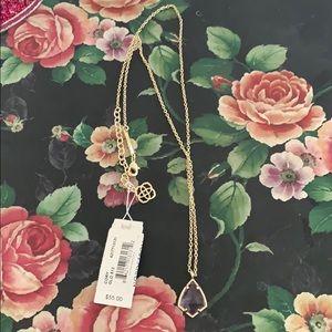 Kendra Scott Gold Necklace